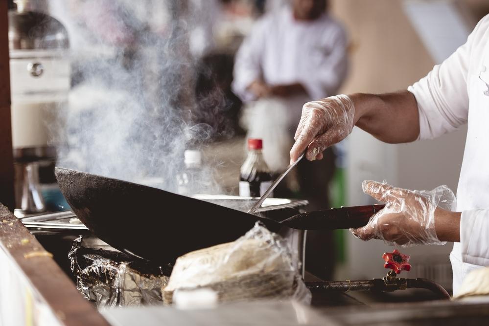 gran chef en cocina